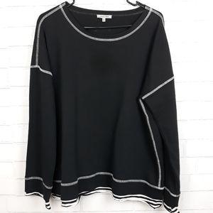 Lisa Todd Faux Layered Sweatshirt C84